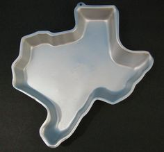 Wilton Cake Pan LONE STAR STATE TEXAS 1982 discontinued 2105-7925 TailGate Cake