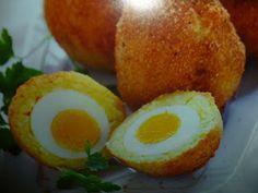 un mondo di ricette: Uova fritte con riso allo zafferano