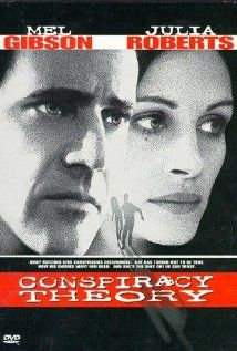 Conspiracy Theory (1997). Again, male-female couple leading roles in a 90s action movie. Gibson and Roberts star.