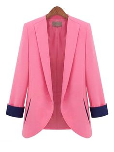 Extraordinary Lapel With Pockets Blazer Only $32.95 USD More info...
