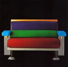 Michele De Lucchi, Lido Sofa, 1982. Memphis Group - Kristall End Table 1981. Michele De Lucchi was born in 1951 in Ferrara and graduated in architecture in Florence. In the years of radical and experimental architecture, he was a major player in such movements as Cavart, Alchymia, and Memphis. Designed lamps and furnishing items for the most renowned Italian and European companies, head design at Olivetti.