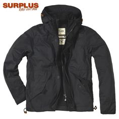 Lightweight and hardwearing Surplus New Savior Jacket comes with a sturdy full front zipper and buttoned storm flap, generous adjustable hood, 2 roomy front pockets, concealed chest pocket, and strengthen cuffs with elasticated inner cuffs. Only £69.99! Find out more at Military 1st online store. Free UK delivery and returns!