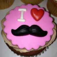 Mustache Birthday Cakes for Girls | mustache' cakes, cupcakes and cookies @ CakesDecor.com - cake ...