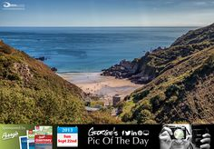 Glorious day for the autumnal equinox here in the islands. Took the high path above Petit Bôt overlooking the bay & tower #13. #LoveGuernsey  http://chrisgeorgephotography.dphoto.com/#/album/cbc2cr/photo/18562424  Perrys Guide Ref: Page 29 F4 Picture Ref: 22_09_13 — in Guernsey.