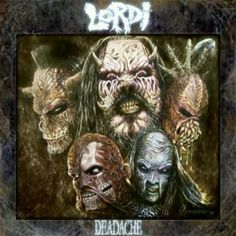 Lordi - The Devil Hides Behind Her Smile Deadache Album! Lordi Band, Heavy Metal, Eurovision Songs, Metal Stars, Latest Albums, Thrash Metal, Her Smile, Cool Things To Buy, Stuff To Buy