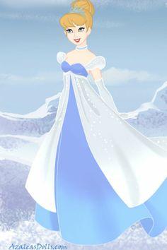 Disney doll by SaphyraLynn. Cinderella Doll, Cinderella Dresses, Disney Princess Dresses, Disney Princesses, Disney Characters, Cinderella And Prince Charming, Disney High, Princess Collection, Disney Dolls