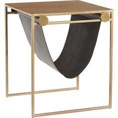 SAIC + CB2 sling nightstand