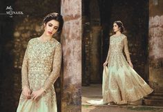 Shop Monark Indo Western Salwar Suits Online with the best price Fashion House. Flaunt latest styled cuts and look with these Indian Dresses, Give yourself the stylish look for a Wedding & Party wear. Have a Glance at the Collection Now. Designer Anarkali Dresses, Pakistani Designer Suits, Designer Party Dresses, Pakistani Suits, Long Anarkali Gown, Bridal Wardrobe, Salwar Suits Online, Indian Gowns, Ethnic Fashion