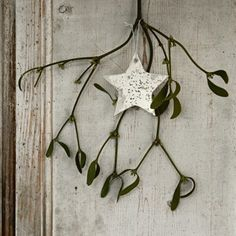 Antique Mirror Hanging Stars