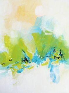 Original Art Abstract painting acrylic on canvas by Svetlansa