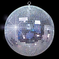 A disco/mirror ball is perfect for decorating a tween's room; price is right at $30