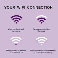Your WiFi Connection #Funny, #Internet, #WiFi