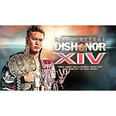 The current IWGP Heavyweight Champion @rmkzokada has been added to the Death Before Dishonor shows on August 19th and 20th in #lasvegas  #ringofhonor #roh #newjapanprowrestling #njpw #vegas #iwgp #japan #okada #rainmaker #wrestling #prowrestling #likeforlike #like4like #like #august #awesome roh_wrestling Sam's Town 2016/07/06 09:01:10