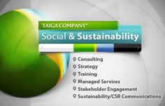 Taiga Company: Social and Sustainability