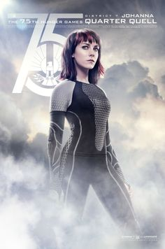 The Hunger Games - Jena Malone as Johanna Mason (Quarter Quell poster)