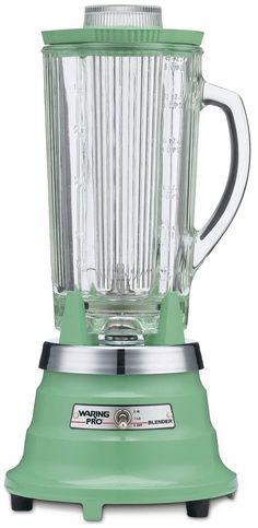 vintage-green / jadeite / jadite / pistachio Waring blender.  I got this for Christmas!