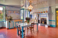 Fondation Claude Monet à Giverny (la cuisine) - Alta Normandía, Francia - http://fondation-monet.com/