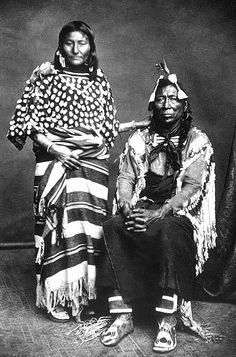 Crow chief White Temple, Itchúua Chíash, known also as Iron Bull, Uuwatchiilapish ca. 1820-1886. An important warrior and second ranking chief to Sits In The Middle Of The Land.