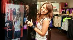 The SocialEyes interactive display system enables customers to take photos of themselves via a reflective digital mirror, which then sends the photo to the Lorna Jane Facebook page to be shared with the community.Customers tag themselves in photos taken in-store and share them in the 'Strike A Pose' album.      Participating customers receive a code word that give them instant in-store rewards and entrance into a drawing for a 250$ Lorna Jane wardrobe. This is an aussie first
