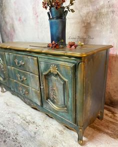 Gold Painted Furniture, Modern Masters, Fresh, Cabinet, Create, Canvas, Shop, Painting, Instagram