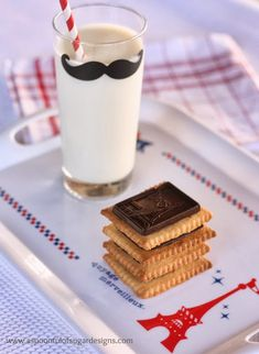 Make Your Own Petit Ecolier Biscuits | A Spoonful of Sugar