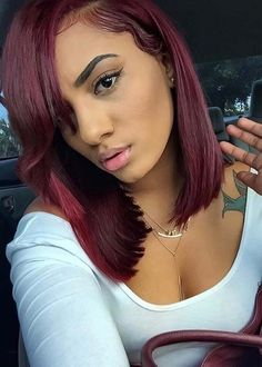 26 Absolutely Gorgeous Red Lob Styles for 2018
