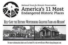 Historic Wintersburg was named one of America's 11 Most Endangered Historic Places by the National Trust for Historic Preservation!  Read more about the announcement at http://historicwintersburg.blogspot.com/2014/07/americas-11-most-endangered-2014.html