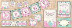 Pastel Princess Printables Collection – Ianandlola