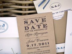 Save the Date Idea