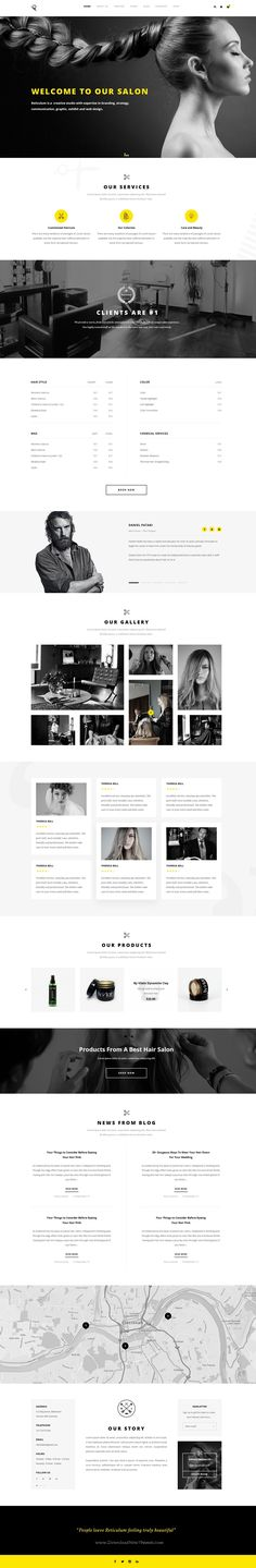 Reticulum is a professionally design premium #PSD #template for multipurpose #hair #saloon website with 21+ amazing homepage layouts and 113 organized PSD pages download now➯ https://themeforest.net/item/reticulum-creative-psd-template/17048683?ref=Datasata