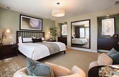 Zen-inspired bedroom draws inspiration from nature