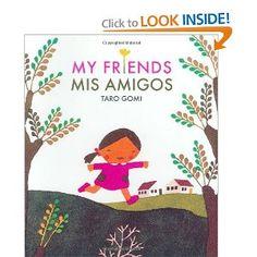 My Friends/Mis Amigos (9780811852043): Taro Gomi: Books