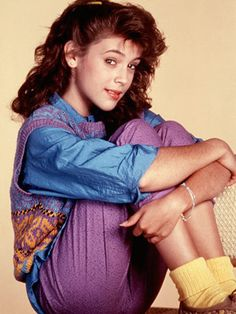 Alyssa Milano...Who's The Boss..loved that show growing up!