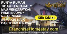 Franchise Homestay | Franchise Guest House – Franchise Property Management – Franchise Menguntungkan di Indonesia – Nilai Property Selalu NAIK dan Dapat Passive INCOME. Hub. 0878.3913.2939