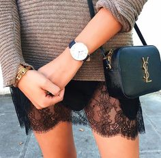 Perfect transition outfit into autumn