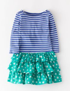 I've spotted this @BodenClothing Stripy Ruffle Dress Harbour Blue Stripe