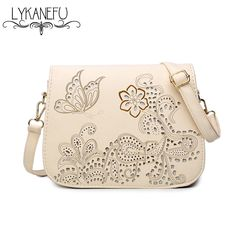 UKQLING Brand Women Messenger Bags with Long Strap Vintage Style ...