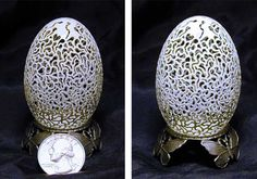 eggsshell carving