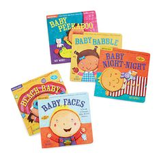 Look What I Found At Uncommongoods Indestructible Baby Book Set For 28 00 Christmas