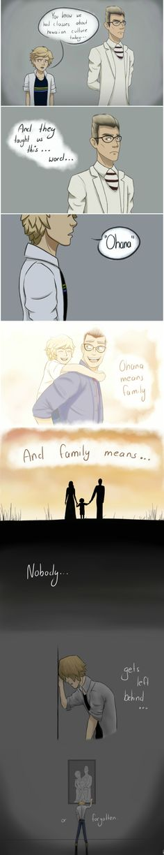Ohana means family by PeruGirl199 on DeviantArt
