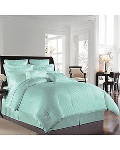 bed spread  I would LOVE this if I put a black monogrammed pillow in the middle with other black chevron pillows!!