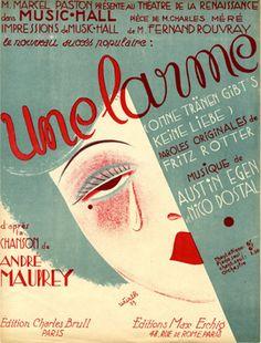 Une Larme, 1929 (ill.: Würth); ref. 4164