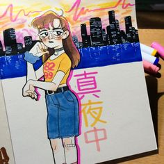 I only ever journal to future funk so it always ends up like this