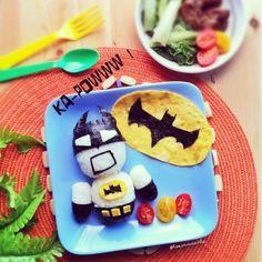 Batman From Eatzy Bitzy.