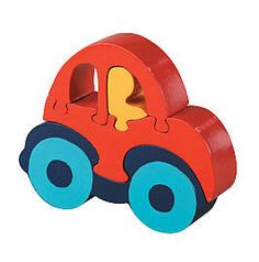 Car Wooden Jigsaw