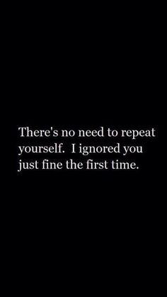 """When you don't care, you really don't care. 