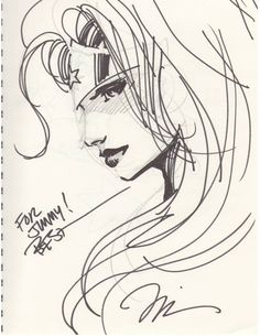 Wonder Woman sketch | Jim Lee