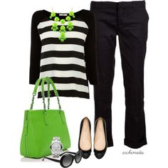 """A Bit of Lime"" by archimedes16 on Polyvore"