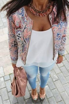 Love the blazer.
