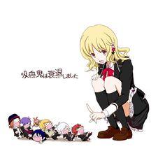 Diabolik Lovers ~Haunted dark bridal~, Sakamaki Laito, Sakamaki Subaru, Komori Yui, Sakamaki Kanato